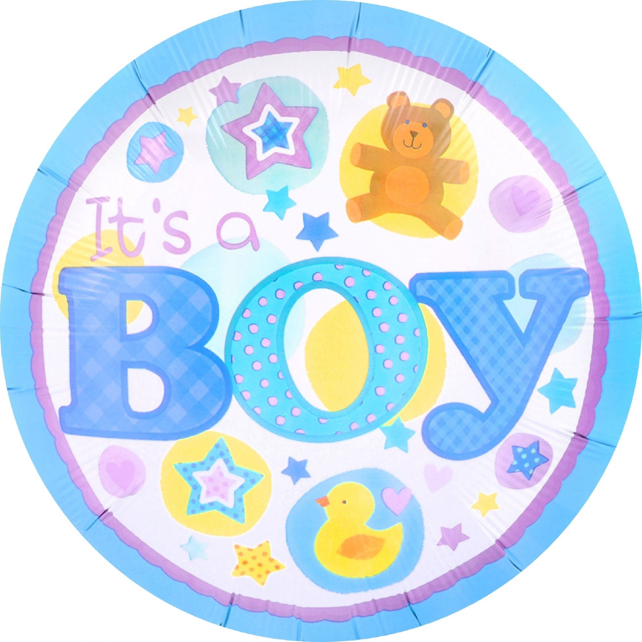 It s a Boy Edible Cake Topper