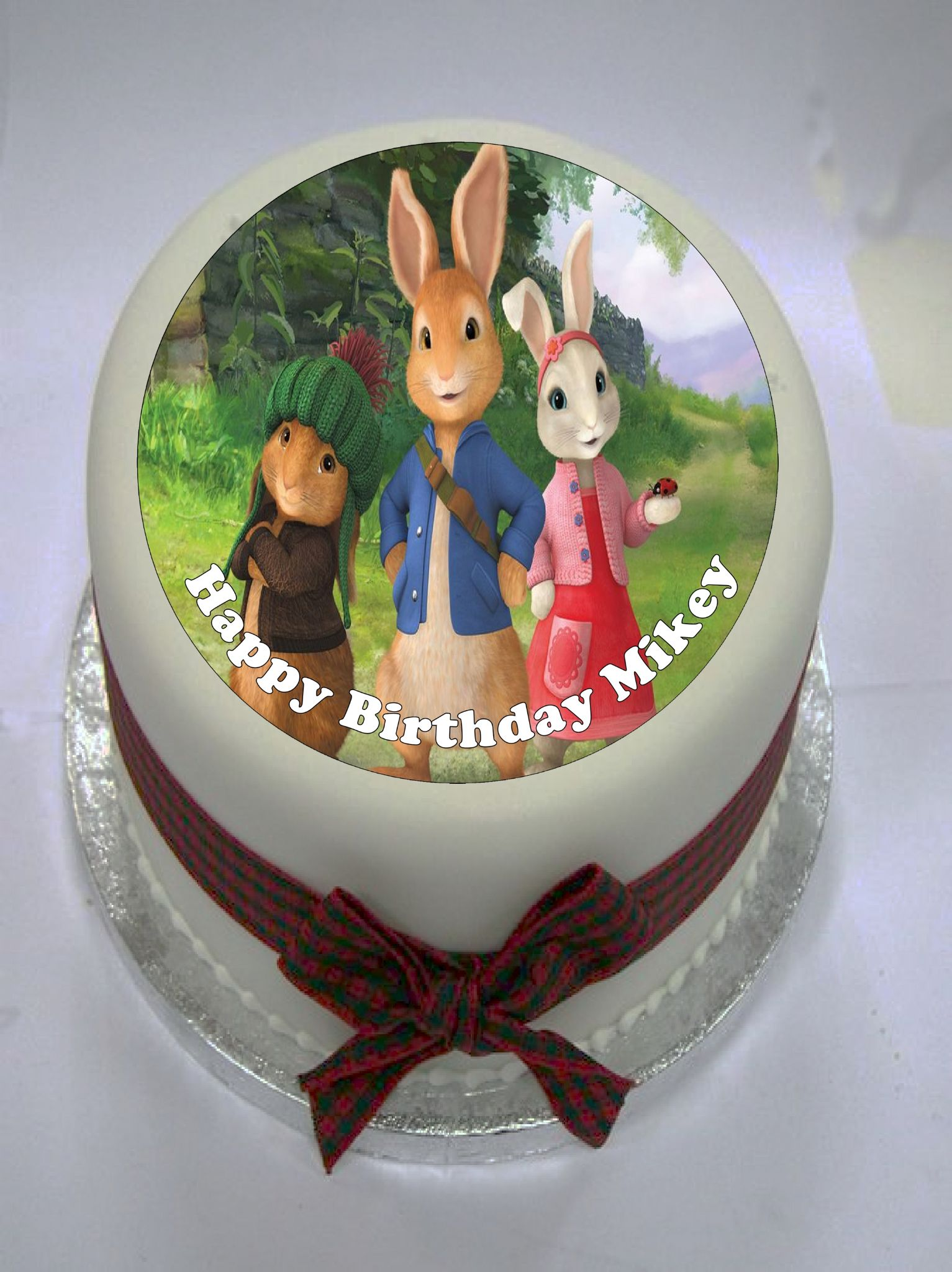 Peter Rabbit Edible Cake Topper