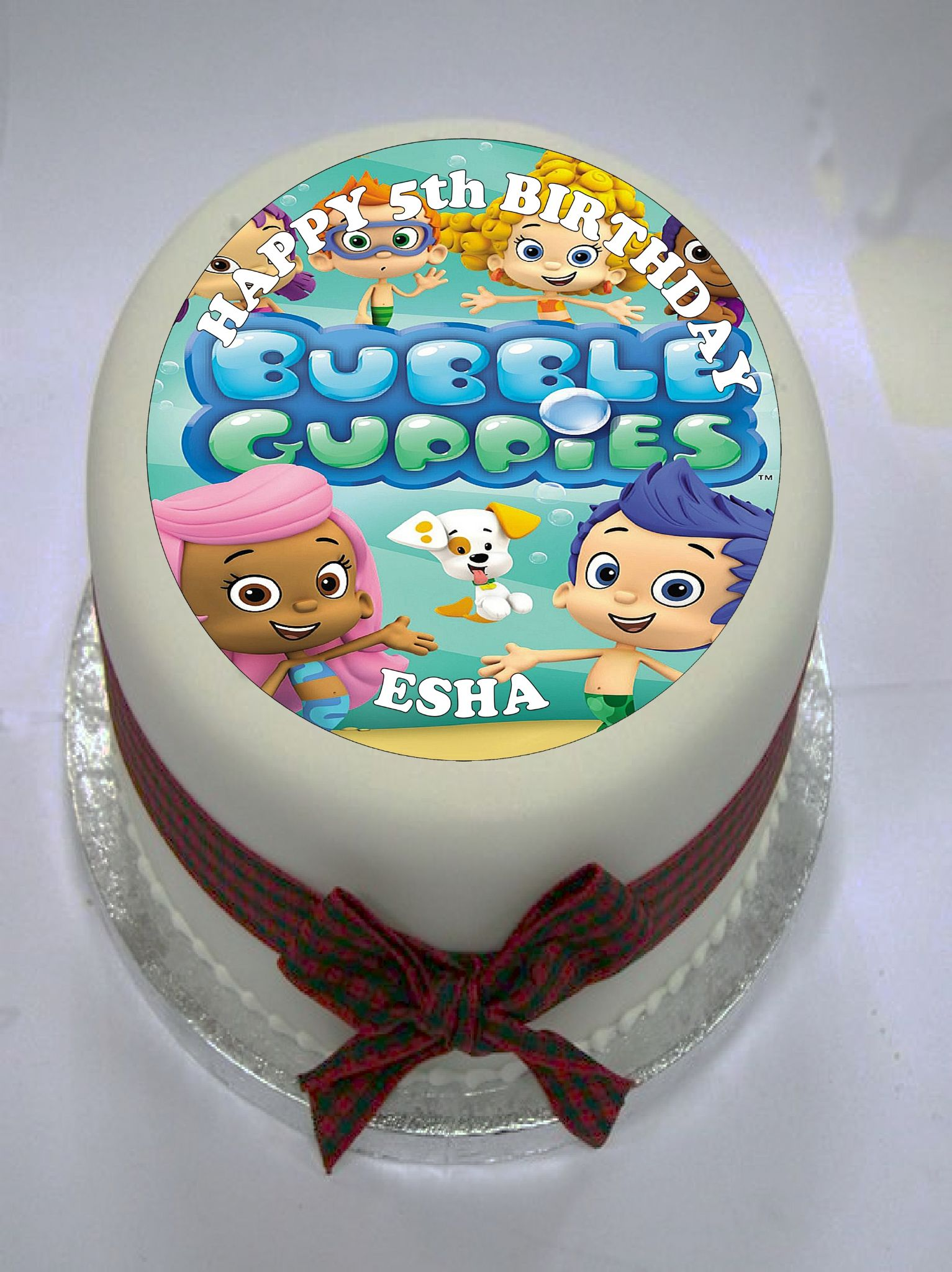 bubble guppies cake toppers guppies edible cake topper 2100