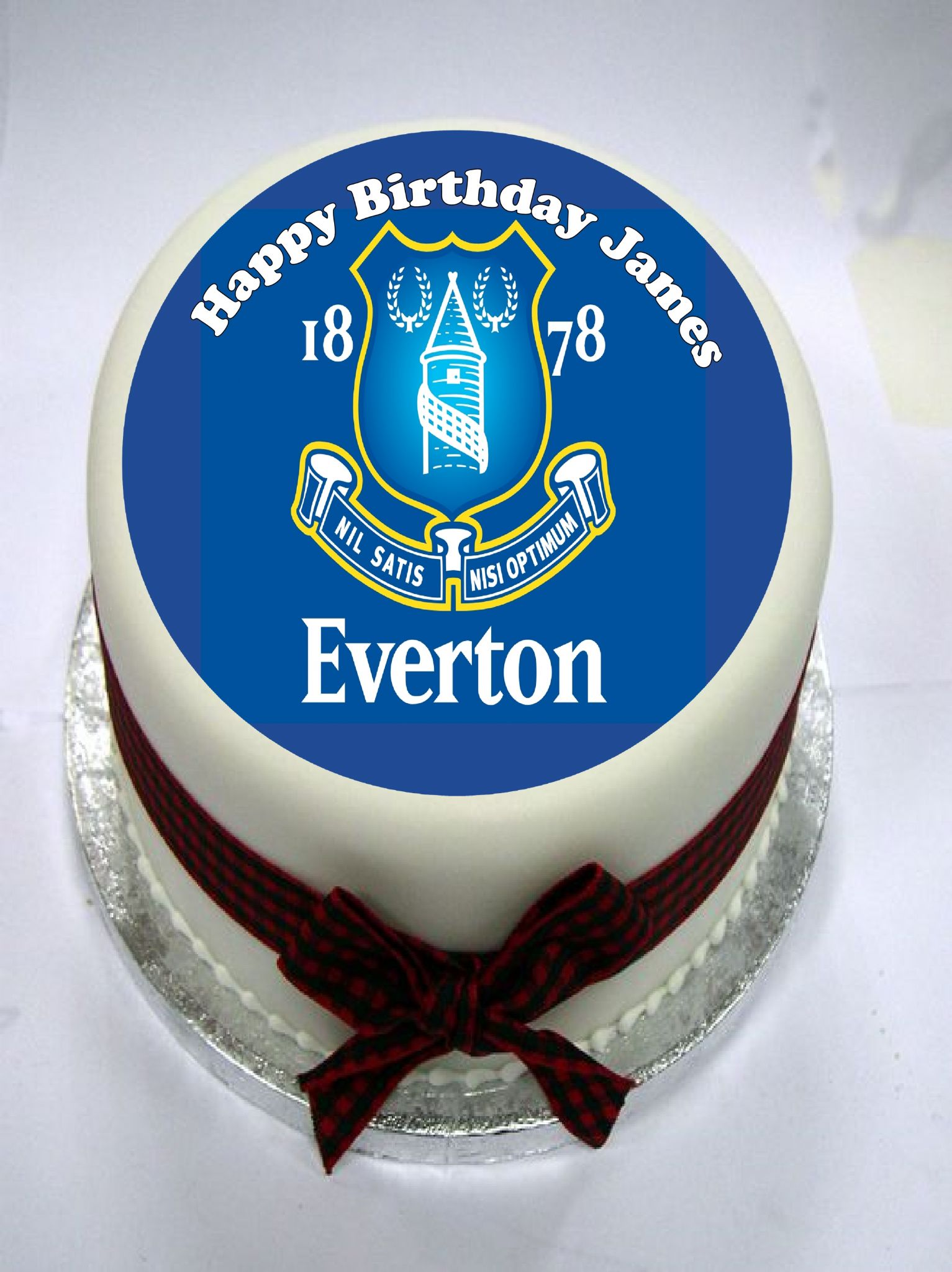 Everton Edible Cake Topper Style Chocolate Fudge Kit Incl Icing 3174 P