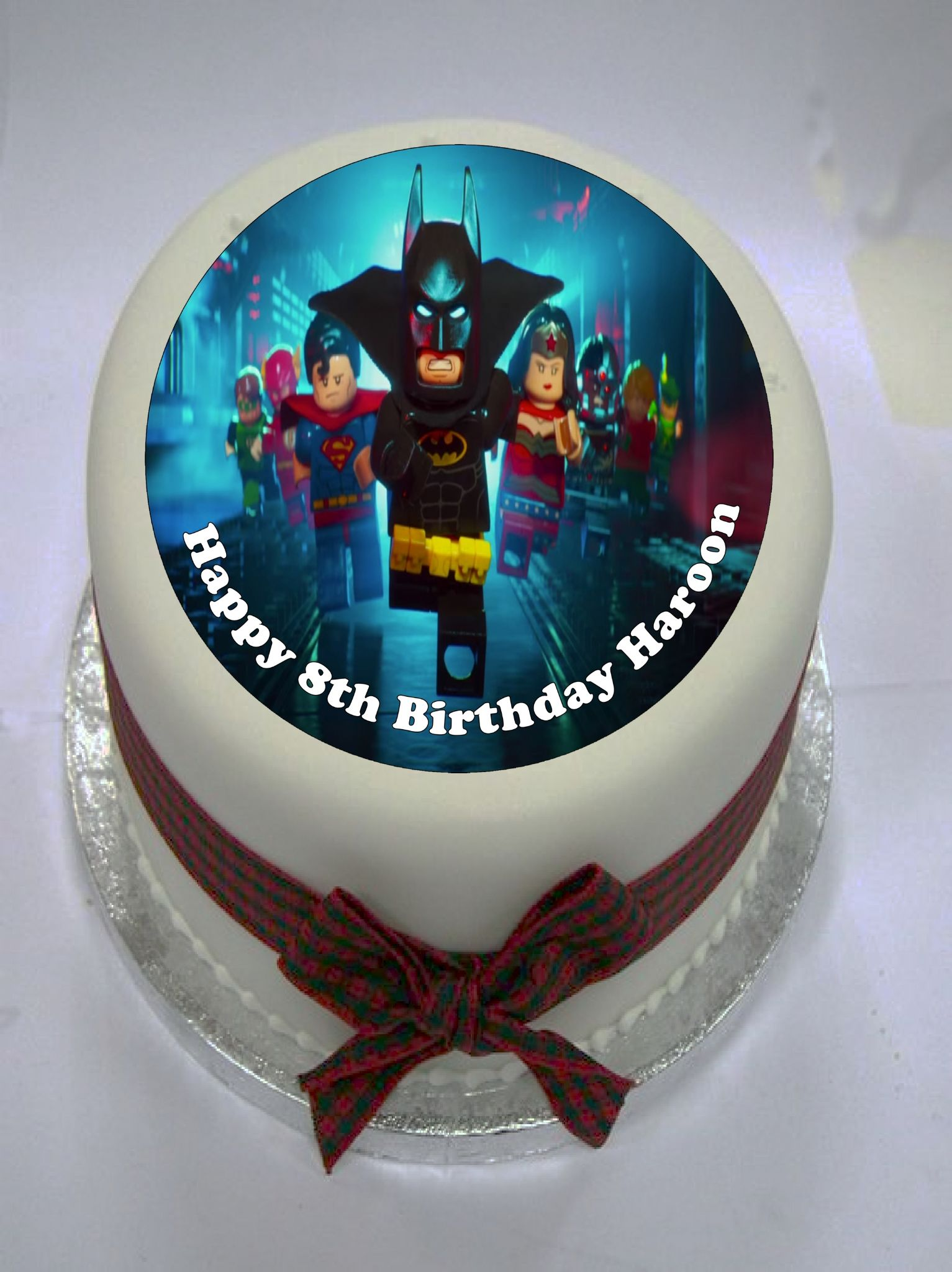 Lego Batman Edible Cake Topper