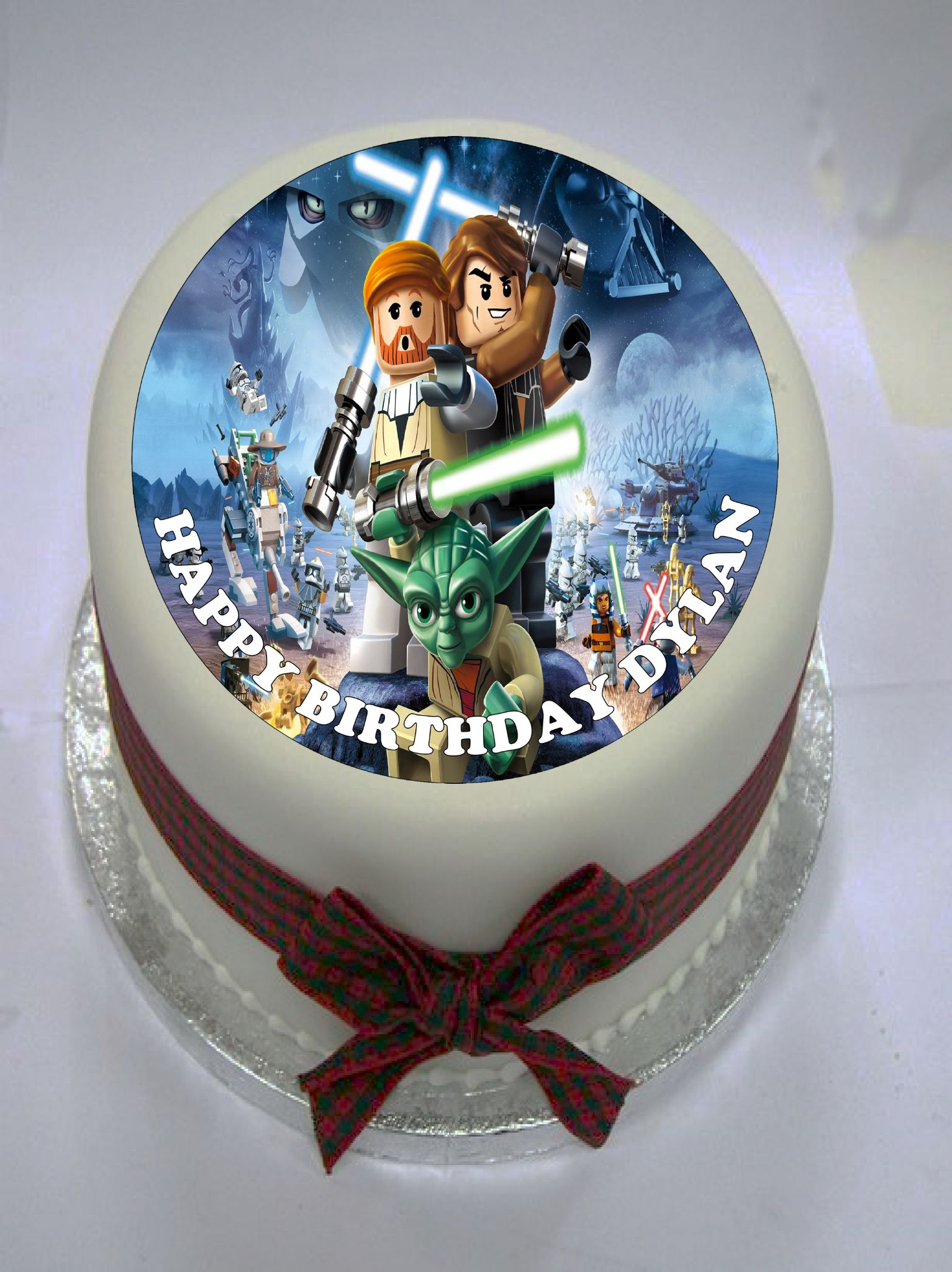 Pleasant Lego Star Wars Edible Cake Topper Funny Birthday Cards Online Bapapcheapnameinfo