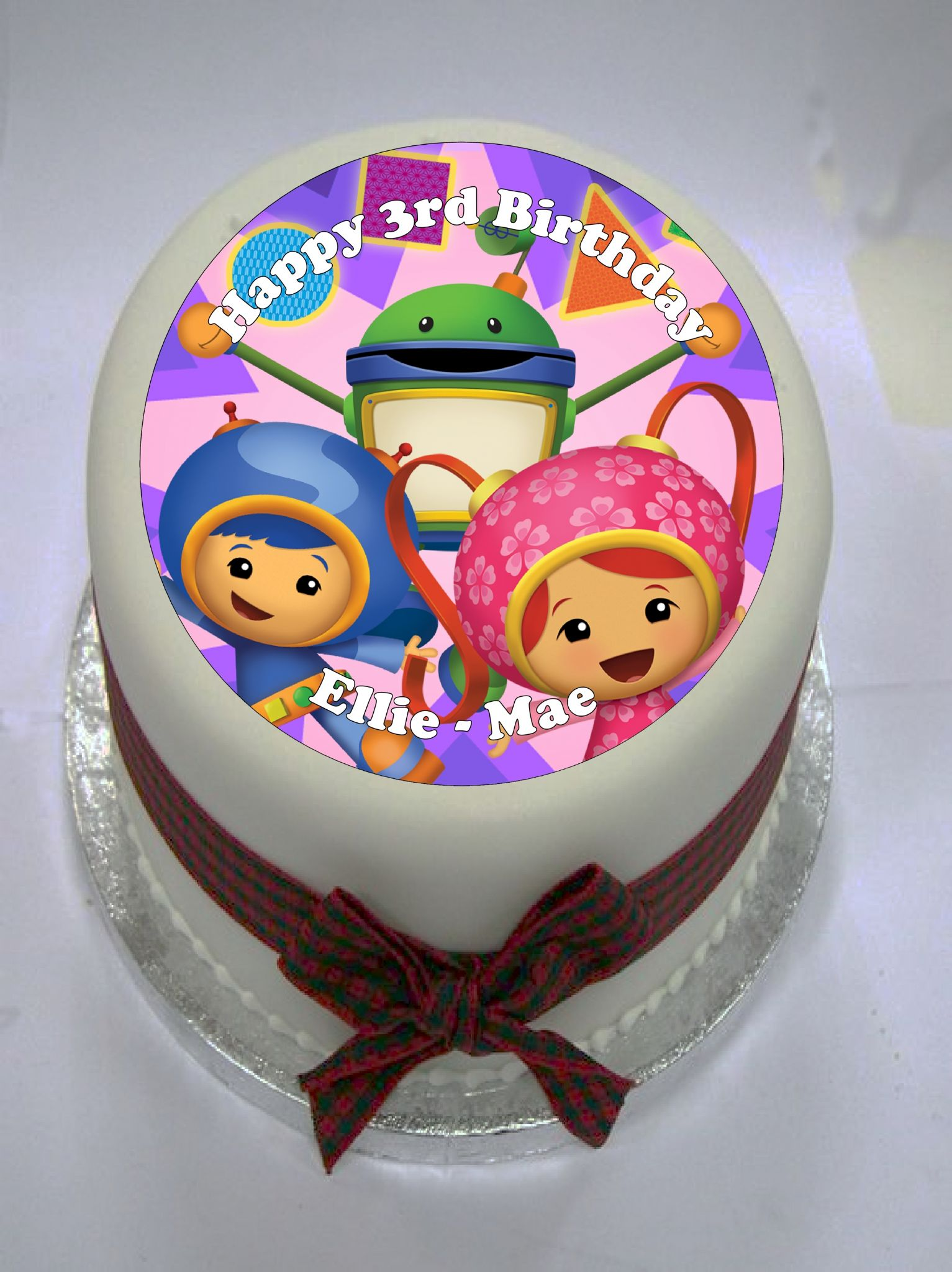 Team Umizoomi Edible Cake Topper 349 P